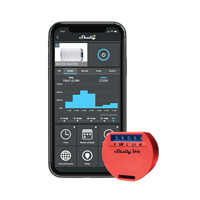 Smart Wi-Fi Relay (Single Channel) with Power Monitoring