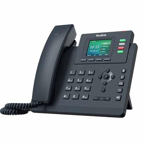 Yealink Gigabit, colour screen desktop IP phone, excludes PSU