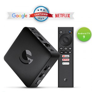 AGT419 | Ematic 4K Ultra HD Android TV Box - Top