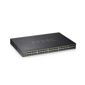 GS1920-48HPV2 | Zyxel Smart Managed 48-Port Switch - Front