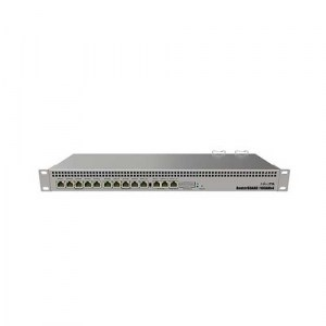 RB1100AHX4 | MikroTik Rack Mount Gigabit Router - Front
