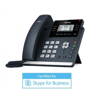 SIP-T42S-MS | Yealink Gigabit Ethernet Desktop IP Phone for Skype for Business