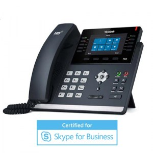 SIP-T46S-MS | Yealink Gigabit Receptionist IP Phone for Skype for Business
