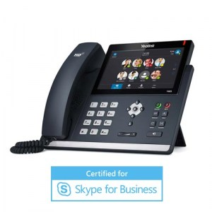 "SIP-T48S-MS | Yealink Gigabit IP Phone with 7"" Touch Screen, Skype for Business Compatible"