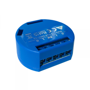 Shelly 1 | Shelly Smart Wi-Fi Relay (Single Channel) - Side
