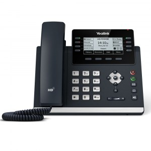 T43U | Yealink Advanced Gigabit IP Phone with Dual USB Ports - front
