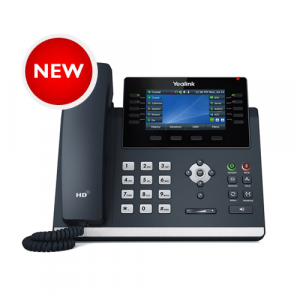 "T46U | Yealink Gigabit IP Phone with Dual USB Ports and 4.3"" Colour LCD - NEW"