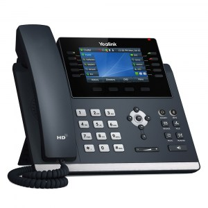 "T46U | Yealink Gigabit IP Phone with Dual USB Ports and 4.3"" Colour LCD - right"