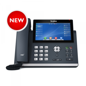 T48U | Yealink Gigabit IP Phone with Touch LCD and Dual USB Ports - NEW