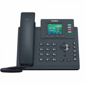 SIP-T33G | Yealink Gigabit, colour screen desktop IP phone - Front View