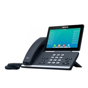 SIP-T57W | Yealink Dual-Band Wi-Fi Phone Left