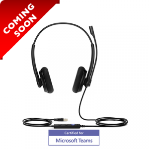 UH34-LITE-DUO | Yealink On Ear USB Stereo Headset - Coming Soon