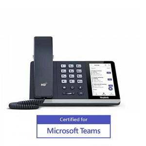 SIP-T55A | Yealink Teams Desktop IP Phone - Front