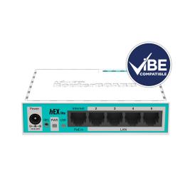 MikroTik hEX Lite Desktop Router - ViBE Compatible