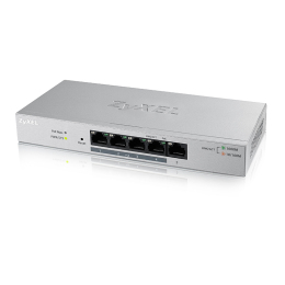 Zyxel 5-Port GbE Web Managed PoE Switch